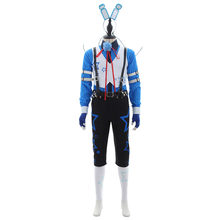 Five nights at Freddy's FANF Toy Bonnie Human Costume Suit Adult Men's Halloween Carnival Scary Cosplay Costume(China)