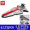 NEW LEPIN 05077 6125PCS Star Wars Classic Ucs Republic Cruiser Educational Building Blocks Bricks Toys Model
