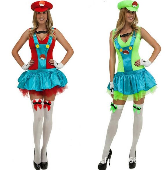 deguisement adultes sexy super mary sisters costume cosplay halloween costumes for women sexy naughty plumber costumes ce276 in sexy costumes from novelty