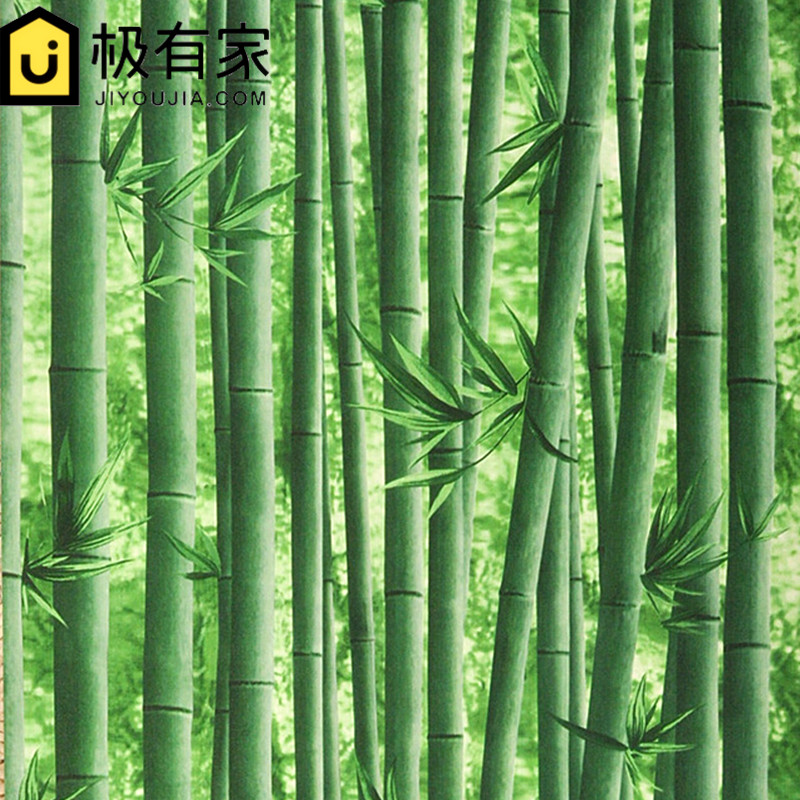 0.53x10m 3d bamboo pattern wallpaper restaurant hotel entrance hall living room TV backdrop classical Chinese style wallpaper