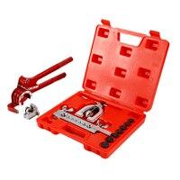Crimping Tool Flange Set Brake Line Tube Bending Pliers 3 Pcs Brake Line Tool