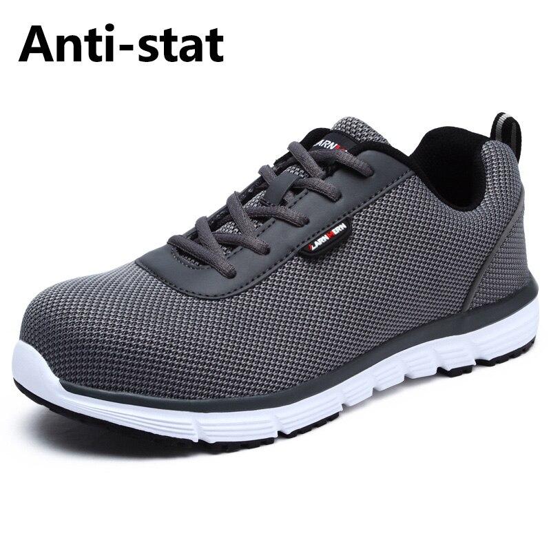 1df00984ea4c Dropwow MODYF Men Steel Toe Work Safety Shoes Lightweight Breathable ...