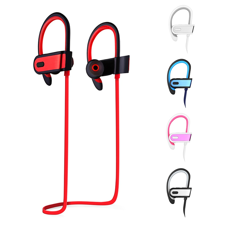 Wireless Bluetooth Headphone Super Bass Earphone Sweatproof Earbuds Sports Headset For Iphone Samsuang Huawei Samrtphones