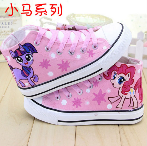 6e0787ac0 hand craft my litter pony cartoon cosplay kids trainer baby tenis children  sneakers canvas casual shoes flats for boy girls boot-in Sneakers from  Mother ...
