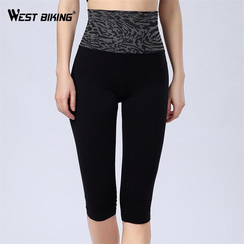 WEST BIKING Women Yoga Shorts Brand High Waist Slim