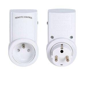 Image 2 - Universal French Standard AC220V Power Socket Plug 433mhz RF Wireless Remote Control Socket Outlet Compatible Broadlink RM4 pro