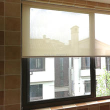 Sunshine fabric curtains shading curtain Engineering office hotel fire retardant waterproof transparent balcony