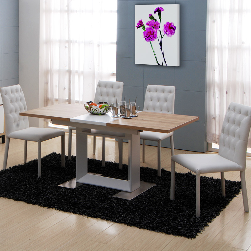 Beau Telescopic Treasure House Modern Minimalist Dining Table Dinner Table  Stretched Scalable Combination Dining Table Six Chairs In Dining Tables  From Furniture ...