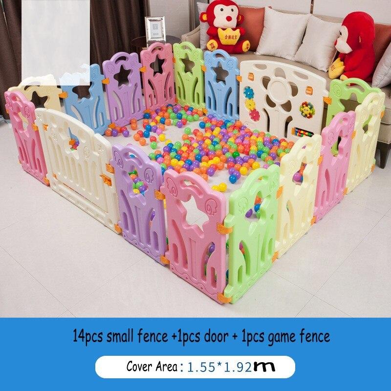 Безопасный одежда для малышей Дети Крытый активность ходьбу ограждение Новый стиль детские игры забор Манеж