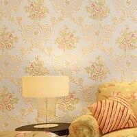 beibehang natural designer shimmer effect botanical garden floral vinyl wallpaper roll home decor papel de parede 3d wall paper