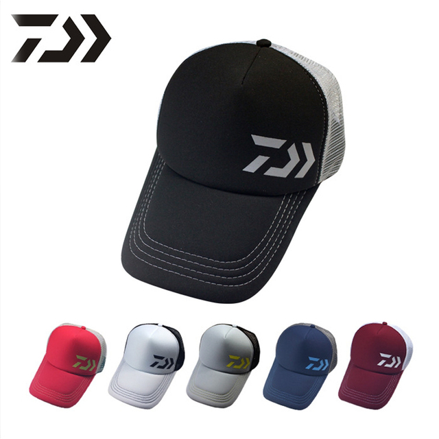 43efbab4d4d New 2017 Adult Men Adjustable Fishing Hat Sport Baseball Daiwa Brand  Japanese Japan Sunshade Fishermen Cap With Letter VD882