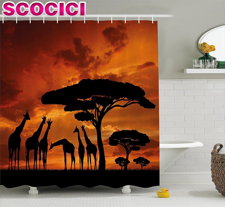 Giraffe Bathroom Decor Giraffe Bathroom Set