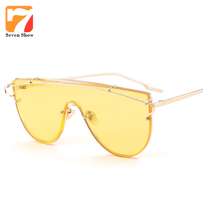 Óculos Steampunk óculos de Sol Dos Homens Das Mulheres Grife Oculos Shades  Oversized Claras Armações de Óculos de Sol Masculino Feminino Do Vintage 7952ffe6be
