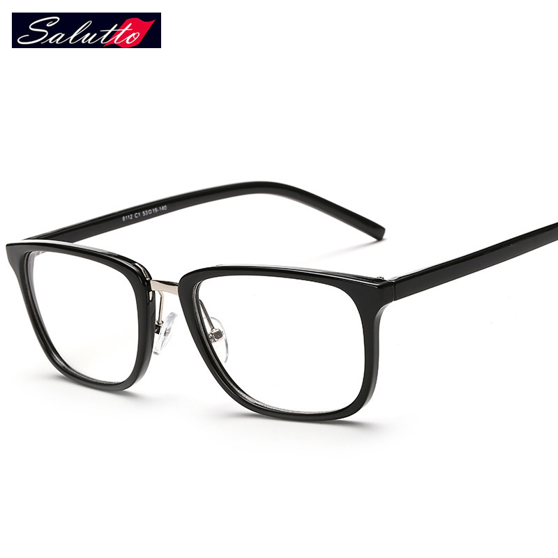 a78518e6fb8 SALUTTO Men And Women Fashion Ultralight Radiation Protection Computer  Optical Glasses Eye Glasses Frames Prescription Eyewear-in Eyewear Frames  from ...