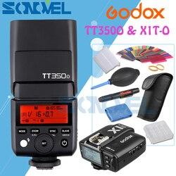 Godox Mini Speedlite TT350O + X1T-O Transmitter TTL HSS GN36 Camera Flash for Olympus/Panasonic Micro 4/3 M4/3 Cameras with Gift