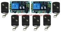 DC 12 V 10 A 1 Canales de RF Inalámbrico de Control Remoto 1 Receptor y 12 Transmisor de aprendizaje código
