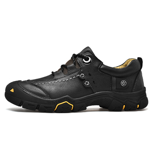 Image 3 - CLAX Mens Scarpe Da Lavoro Genuino maschile In Pelle Alla Caviglia Stivali uomo Casual Calzature Scarpe di Cuoio chaussure homme Plus Size