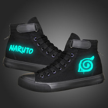 Anime Luminous Shoes Breathable Canvas Shoes Halloween Cosplay Gifts
