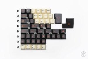 Image 5 - pbt doubleshot keycaps cherry profile carbon colorway beige orange grey for xd60 xd64 tada68 96 xd84 xd68 1800 87 tkl 104 ansi