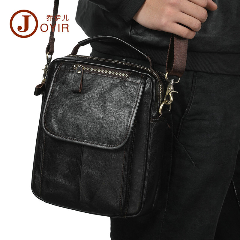 Retro Genuine Leather Men Shoulder Crossbody Bags 2018 New Laptop Tote Cowhide Briefcases Messenger Bag Male for iPad mini jmd 2017 new arrive brand quality genuine leather shoulder bag retro men messenger bag crossbody satches for male men bag jd097