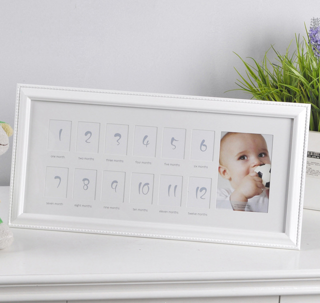 my first year 12 months new born dural decorative way photo frame - My First Year Picture Frame