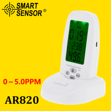 Formaldehyde detector 5 PPM pollution meter test HCHO gas detector indoor Air Quality Monitor measurement Thermometer Hygrometer