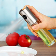100ML Europe Fashion Sprayer Type Oil Bottle Portable Trasparent Body Oil Can Free Shipping