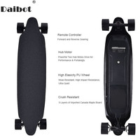 Daibot Electric Scooter For Adults 4 Wheel Electric Scooters 40KM/H Dual Hub Motor Remote Longboard Electric Skateboard