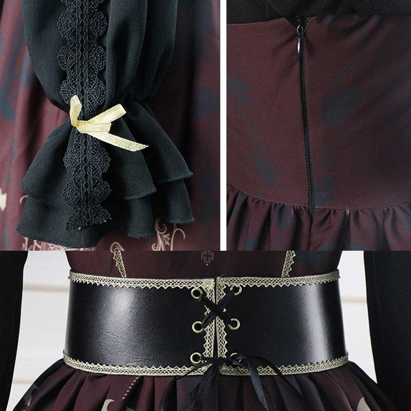 Femme gothique Lolita robe conception originale sommeil nuit ceinture JSK robe fille Lolita 2018 nouveau - 6