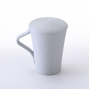 Bamboo-scented threaded cup wi