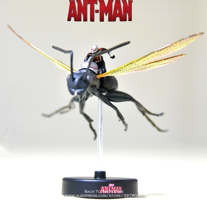 Disney Marvel Avengers Ant Man Flying Q version 10cm Action Figure Anime Mini PVC Collection Figurine Toy model for children 10cm lol acgn game nashor anime dolls toys classical collection model figures action figure boxed animation q version wl0045