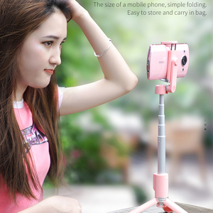 Image 4 - Hoco Wireless Bluetooth Selfie Stick Handheld Smart Phone Camera Tripod with Wireless Remote For iPhone X Samsung Huawei Android
