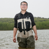 Breathable & Waterproof Ski Wader, Used for fishing wader or hunting wader, and other campaign water games