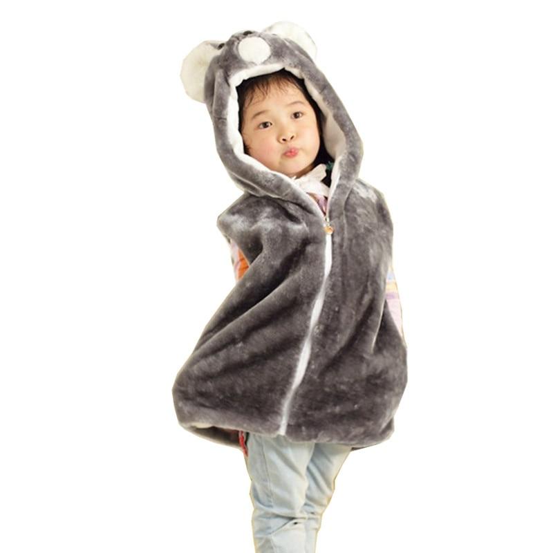 DOUBCHOW Kids Boy Girl Animal Vest Koala Children's Cute Cartoon - Carnavalskostuums