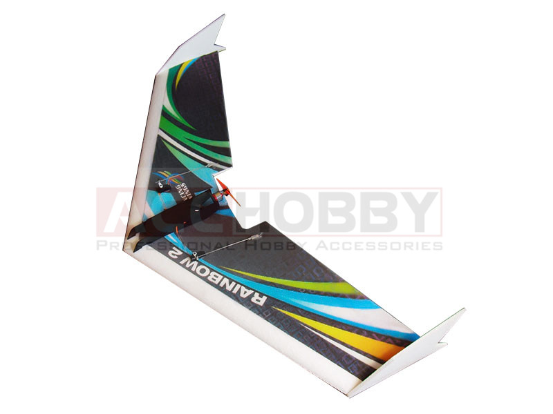 Free Shipping EPP Airplane Model Rainbow Fly Wing 1000mm Wingspan ZAGI RC PLANE EPP plane SPANSWING Delta Wing rc plane geminijets gjdal552 america md 90 n906da 1 400 delta commercial jetliners plane model hobby