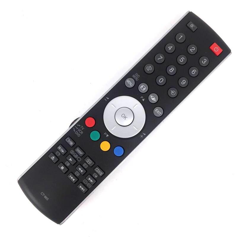 New Replaced Remote Control CT-865 CT865 for Toshiba TV 20WL56B 23WL56B 32-WL66Z 37-WL66Z