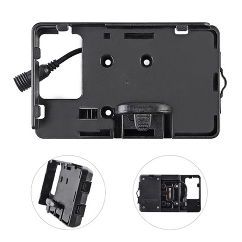Mobile Phone Navigation Bracket USB Phone Charging For BMW R1200GS 12MM Mount Car Accessory