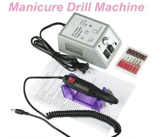 New arrival 10W 110V Electric Nail art Manicure Drill Machine free shipping-TY930