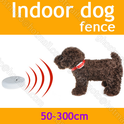 Electric Indoor Dog Fence Pets Manager Training LCD Traine System ...