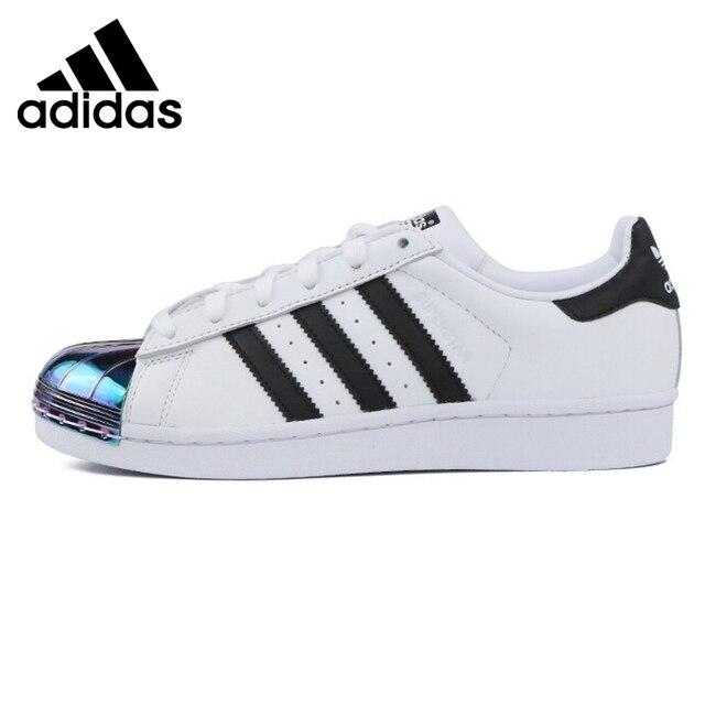 3852023f6ea Nova Chegada Original 2018 Originais Adidas Superstar Skateboarding Sapatos  Sapatilhas das Mulheres