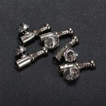 Основа из серебряных перьев для броши, украшения своими руками, Металлическая Булавка для отворота, основа для женских и мужских коротких булавок