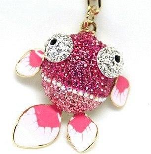 2010 fashion gold wholesale key chain/metal keychain/fish  key Chain free shipping  Wholesale 20pc/lot no 5
