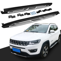 Running Board Nerf Bar Side Step for JEEP new Compass 2017 2018 Platform Iboard
