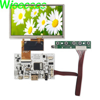 1 5 lcd 5 inch 350 Nits 480*272 AT050TN33 v.1 LCD Panel?with touch screen HDMI usb controller board (1)
