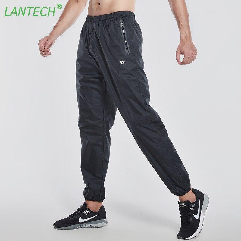 LANTECH Men Hot Sweat Pants Jogger Fitness Exercise Long Pants Trousers For Male