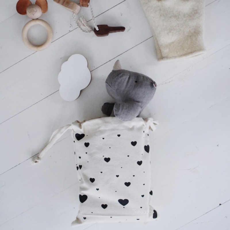 Корзинка для детских игрушек сумка милые дети мини игрушка в виде рюкзака хранения медведи уши полотняная Сумочка малыш игрушечные лошадки Организатор Контейнер supplies29