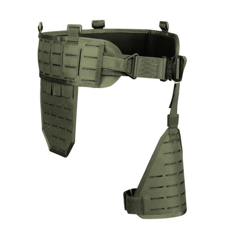 Ultra-large 1000D Nylon élastique respirant rapide détacher ceinture abdominale Holster porter accessoire de chasse outils de plein air