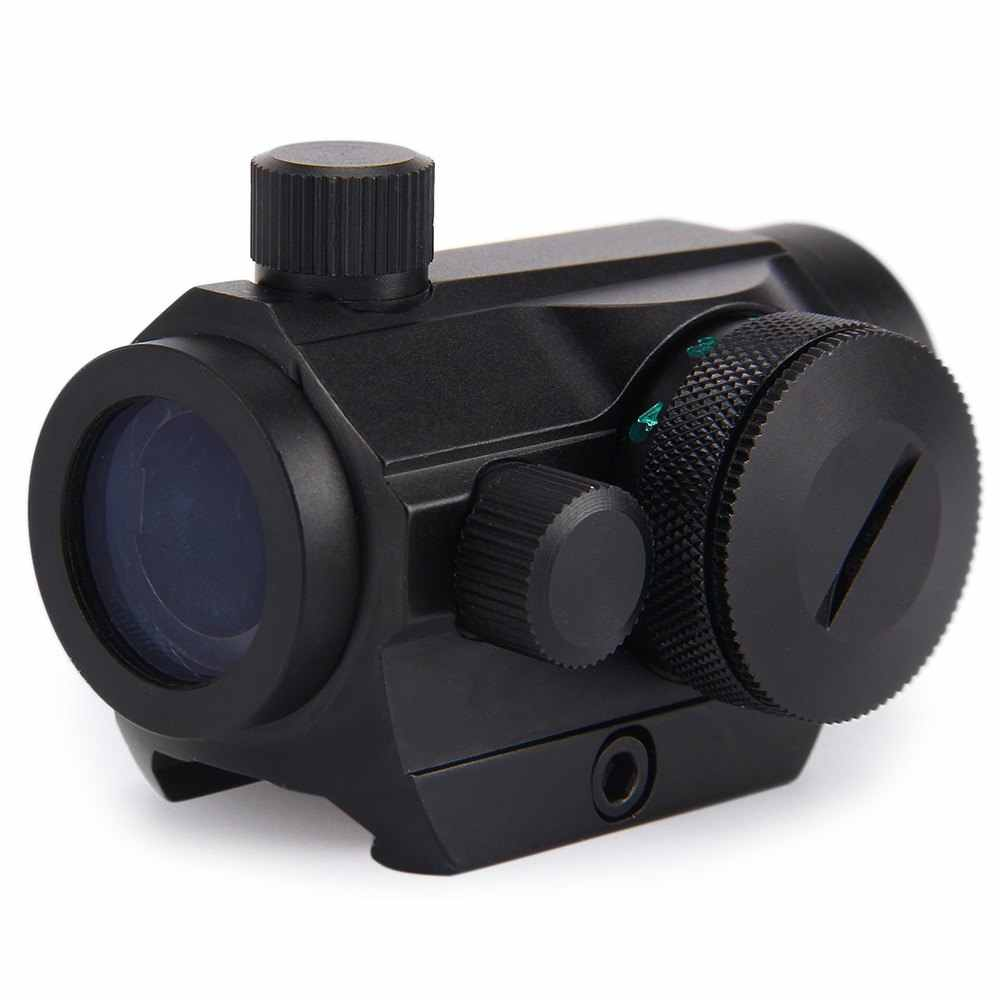 Holographic Red Green  Riflescope Micro Dot Sight Rail Mount 20mm Sight Scope 12 Settings