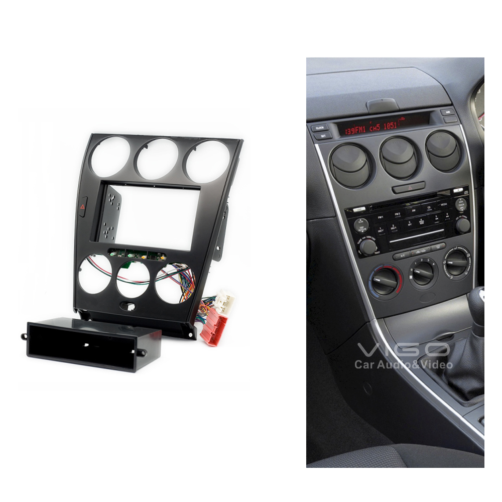 11 106 car radio facia for mazda 6 atenza stereo dash kit. Black Bedroom Furniture Sets. Home Design Ideas