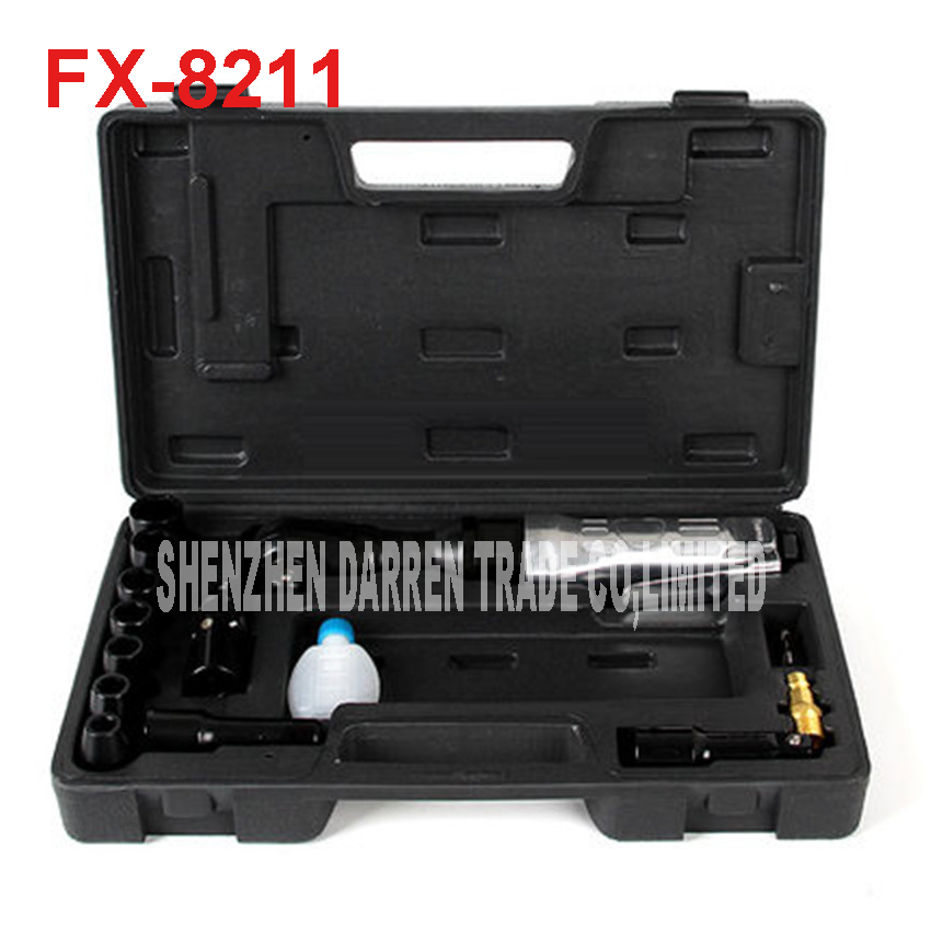 FX-8211 1/2 Aria wrench set Angle air Die Grinder Strumenti Da Taglio Cleaning Air Air pneumatic Wrench spanner set multifunctional spanner wrench opening angle launching device with adjustable wrench universal million large opening angle